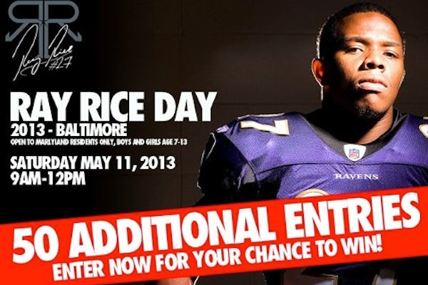 2nd Annual Ray Rice Day