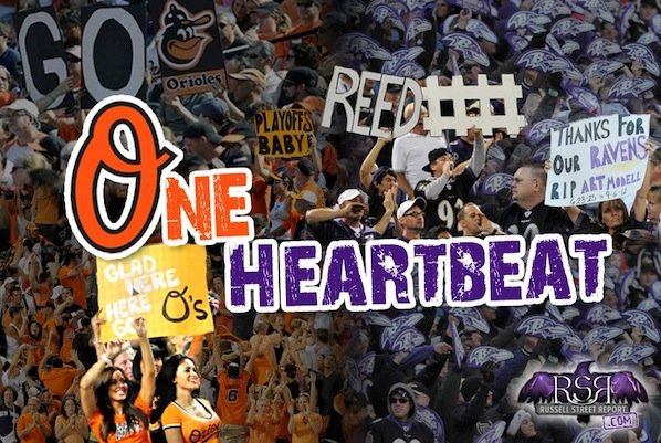 Baltimore Fans Have One Heartbeat? Think Again!
