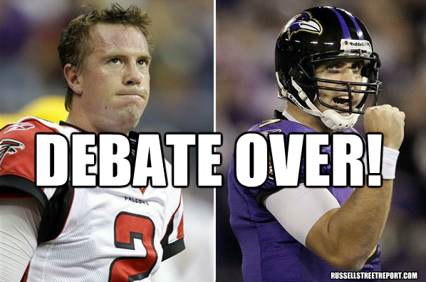 Flacco or Ryan – are we really still doing this?