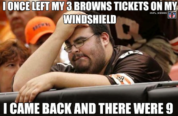 THE WATER COOLER: Oh No…The Browns are Coming!