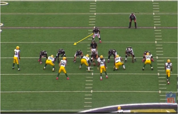 Ravens Struggle to Execute Zone Blocking Scheme