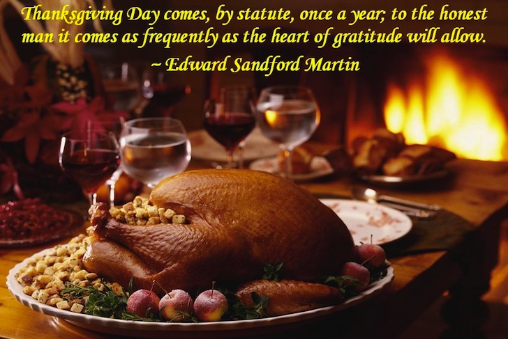 HAPPY THANKSGIVING: Tradition Doesn't Graduate