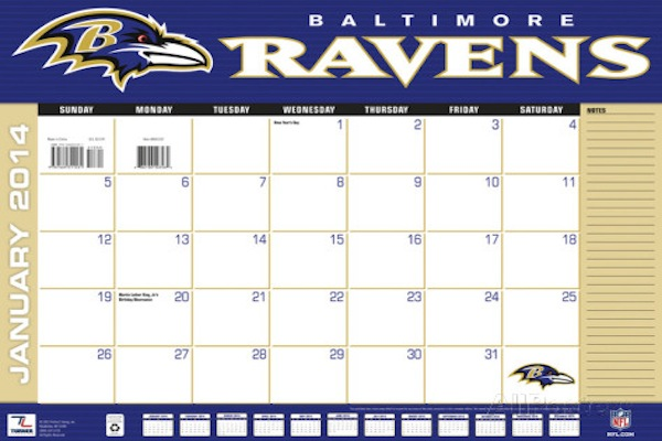 Important Upcoming Dates on the Ravens' Calendar