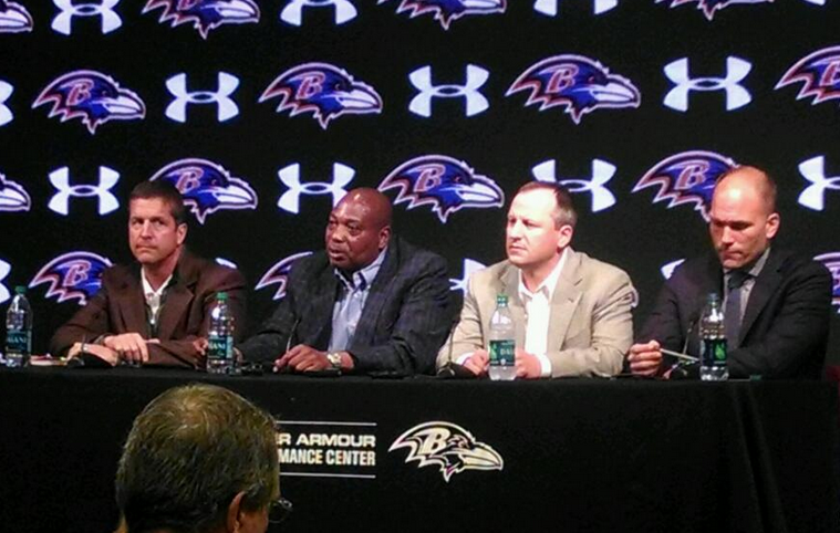 Ravens Hold Annual Pre-Draft Press Conference