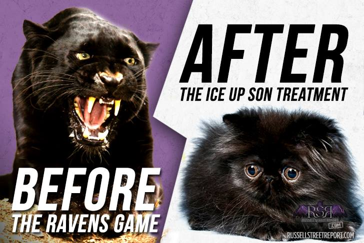 Ravens Look to Put Panthers On Ice