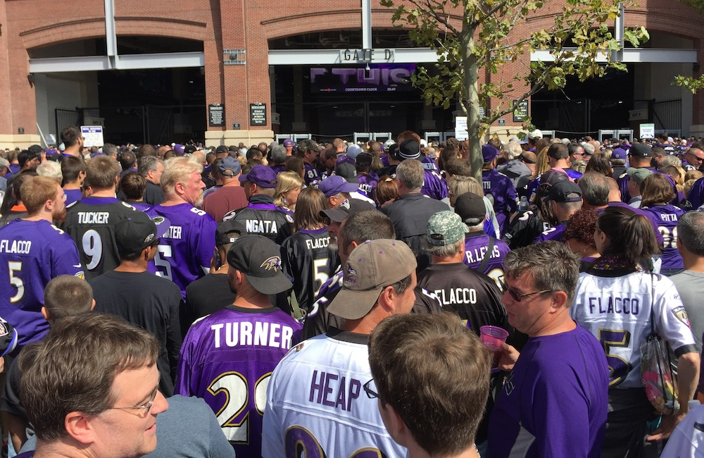 Ravens and Fans Running Into a Wall?