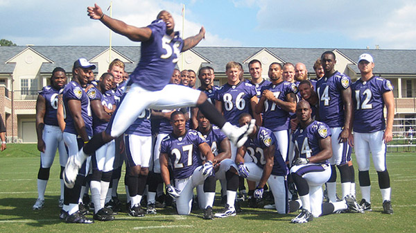 Terrell Suggs Makes His Presence Known